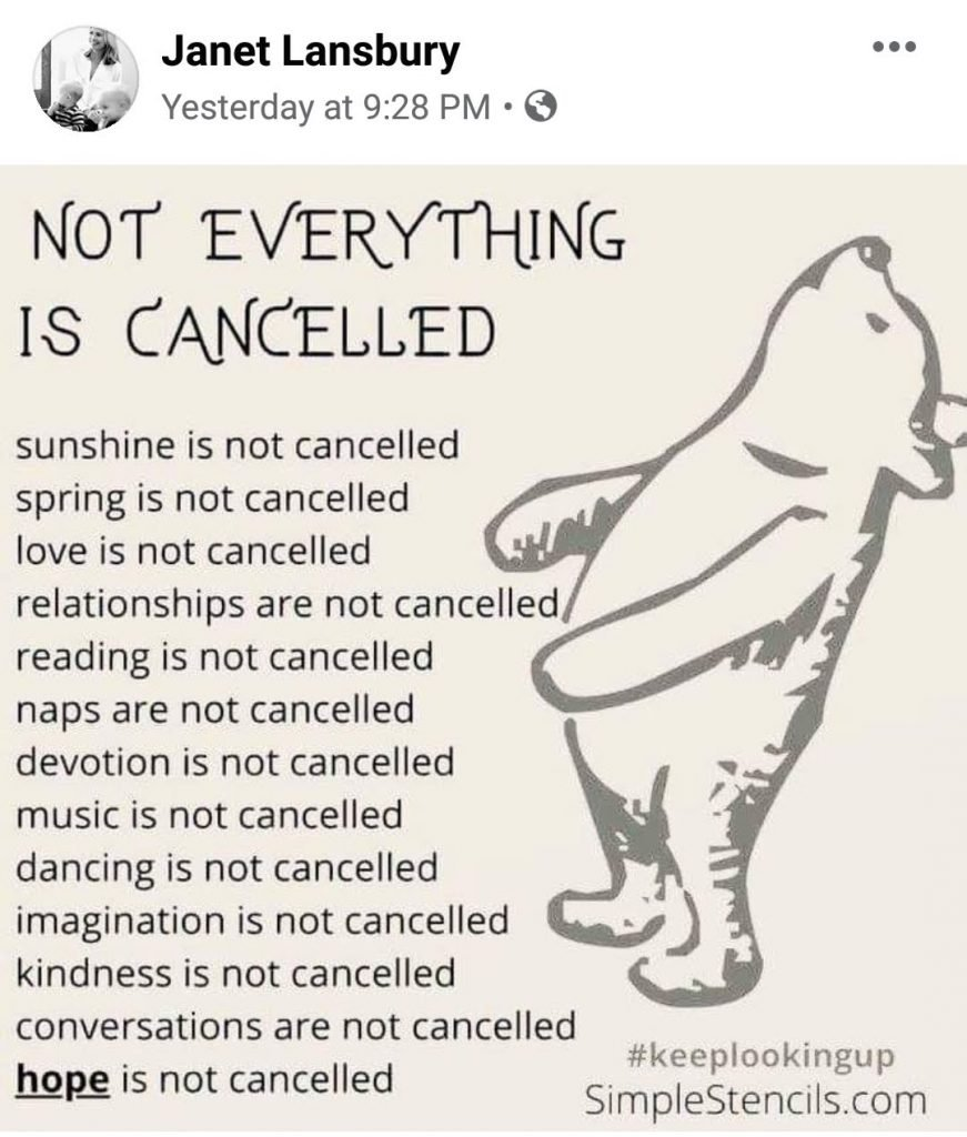 Not Everything is Cancelled
